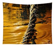 Rope On Liquid Gold Tapestry