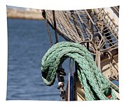 Ropes And Rigging Tapestry