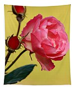 Rose And Rose Buds Tapestry