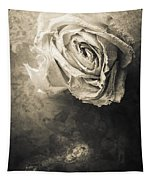 Rose From Another Day Tapestry