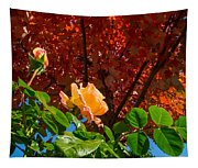 Rose In Autumn Tapestry
