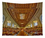 Rose Main Reading Room At The Nypl Tapestry