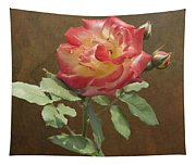 Rose On Thornridge Road Tapestry