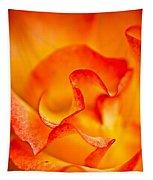 Rose Petals Closeup Tapestry