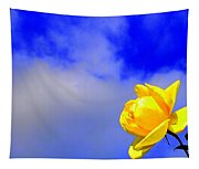 Rose To The Sky Tapestry