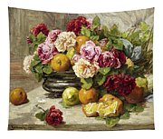 Roses And Fruit Tapestry