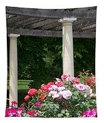 Roses And Pergola Tapestry