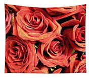 Roses For Your Wall  Tapestry