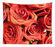 Roses On Your Wall Tapestry