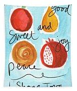 Rosh Hashanah Blessings Tapestry
