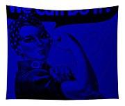 Rosie In Blue Tapestry
