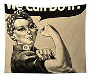 Rosie In Sepia Tapestry