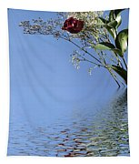Rosy Reflection - Right Side Tapestry