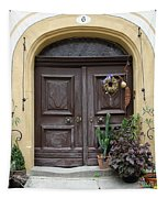 Rothenburg Ob Der Tauber Door  Tapestry