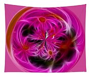 Round Pink And Pretty By Kaye Menner Tapestry