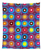 Round Up The Squares Tapestry