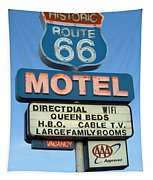 Route 66 Motel Sign 3 Tapestry
