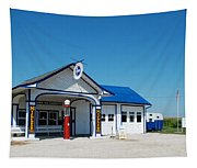 Route 66 Odell Il Gas Station 02 Tapestry