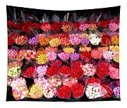 Rows Of Roses Tapestry