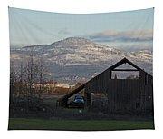 Roxy Ann And The Dark Barn Tapestry