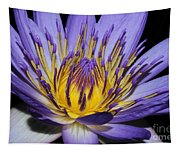 Royal Purple Water Lily #5 Tapestry
