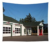 Rt 66 Gas Station 2 Tapestry