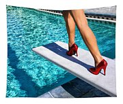 Ruby Heels Ready For Take-off Palm Springs Tapestry