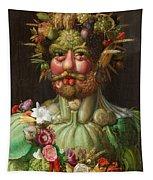 Rudolf II Of Habsburg As Vertumnus Tapestry