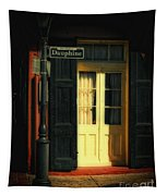 Rue Dauphine New Orleans Tapestry