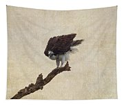 Ruffled Up Osprey Tapestry