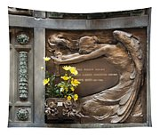 Ruggeri Roncoroni Guzzi Grave Marker Monumental Cemetery Milan Tapestry