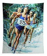 Run For Gold Tapestry