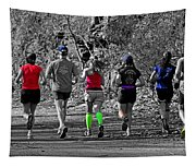 Run In The Park Tapestry