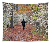 Run Through The Woods Tapestry
