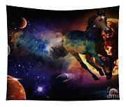 Running Horse Creation Tapestry