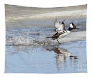 Running On Water Tapestry
