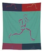 Running Runner3 Tapestry