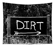 Rural Area Sign Tapestry