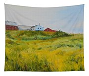 Rural Haze Tapestry