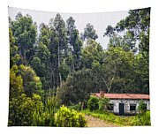 Rural House Tapestry