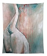 Russian Crane Tapestry