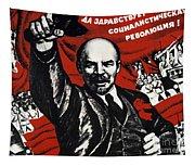 Russian Revolution October 1917 Vladimir Ilyich Lenin Ulyanov  1870 1924 Russian Revolutionary Tapestry