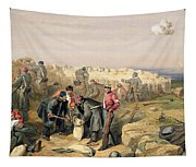 Russian Rifle Pit , Plate From The Seat Tapestry