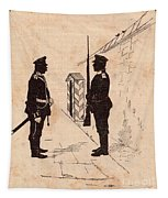 Russian Soldiers Tapestry
