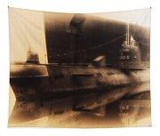 Russian Submarine Heirloom 02 Tapestry