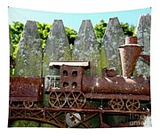 Rusted Rails Tapestry
