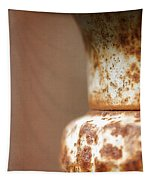 Rusted Urn Tapestry