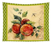 Rustic Apples On Moroccan Tapestry
