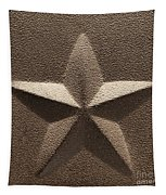 Rustic Five Point Star Tapestry