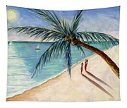 Rustling Palm Tapestry